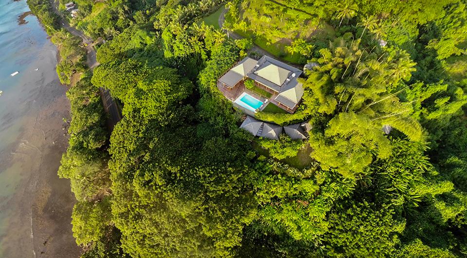 luxury private villa fiji